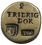 Coin Weight - Friedrich d'Or (Prussia) – avers