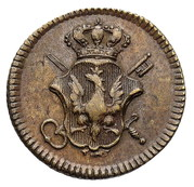 Coin weights - ducat - Stanisław August Poniatowski – avers