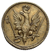 Coin weights - ducat - Stanisław August Poniatowski (Warszawa mint) – avers
