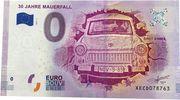 0 euro (30 ans de la chute du mur de Berlin) – avers