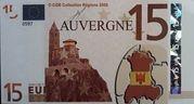 15 Euros (Auvergne) – avers