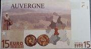15 Euros (Auvergne) – revers