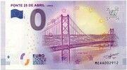 0 euro - Lisboa (Ponte 25 de Abril) – avers