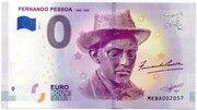 0 euro - Lisboa (Fernando Pessoa 1888-1935) – avers