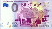 0 euro - Ruhrgebiet (Deutschlands grösste metropole) – avers