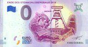 0 euro - Bochum (Ende des Steinkohlenbergbaus 2018) – avers