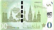 0 Memo euro - München (Olympiapark) – revers