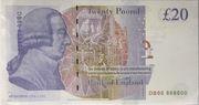 20 Livres - Movie Money (Adam Smith) – revers