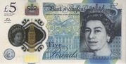 5 Livres - Movie Money (Winston Churchill) – avers