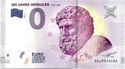 0 euro (300 Jahre Hercules) – avers