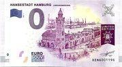 0 euro - Hansestadt Hamburg (Landungsbrücken) – avers