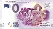 0 euro - Schloss Burg  (Schlacht von worringen 1288) – avers