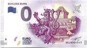 0 euro (Schloss Burg) – avers