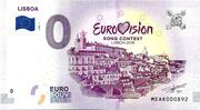 0 euro - Lisboa (Eurovision 2018) – avers