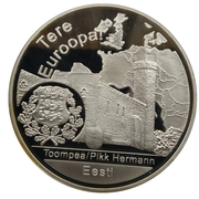 Medaille Estonie Tere Euroopa! – avers