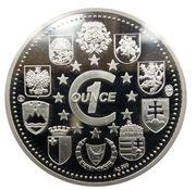 Medaille Estonie Tere Euroopa! – revers