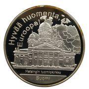 Médailles Finlande Hyvää,huomenta, Euroopa! – avers