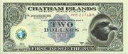 2 Dollars - Millennium First Note – avers
