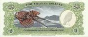 2 Dollars - Millennium First Note – revers