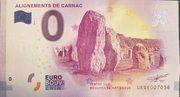 0 euro (Alignements de Carnac) – avers