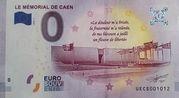 0 euro - Caen (Le mémorial de Caen) – avers