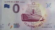 0 euro - Cherbourg  (La cité de la mer) – avers