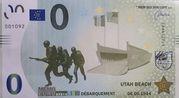 0 Memo euro (Utah Beach) – avers