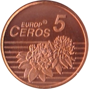5 Europ Ceros – revers