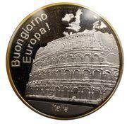 Médailles Italie Buongiorno Europa! – avers