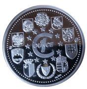Medailles Malte Bongu Europa – revers
