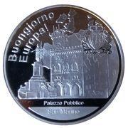 Médailles Saint Marin Bongiorno Europa! – avers