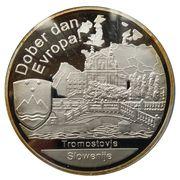 Médailles Slovénie Dober dan Europa! – avers