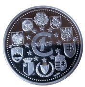 Médailles Slovénie Dober dan Europa! – revers