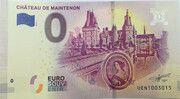 0 euro (Château de Maintenon) – avers