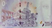 0 euro (Gouffre de Padirac) – revers