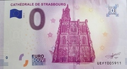 0 euro (Cathédrale de Strasbourg) – avers