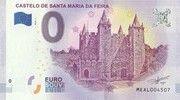0 euro (Castelo de Santa Maria da Feira) – avers