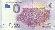 0 euro - Porto (Ponte de D. Luis) – avers