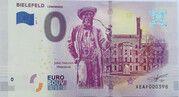 0 euro - Bielefeld (Leineweber ; Jobst Heinrich) – avers