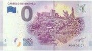 0 euro - Castelo de Marvão – avers