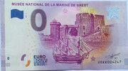 0 euro - Brest (Musée national de la marine de Brest) – avers