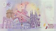 0 euro - Caen (Le mémorial de Caen) – revers