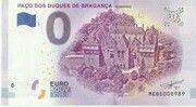 0 euro - Guimarães (Paço dos Duques de Bragança) – avers