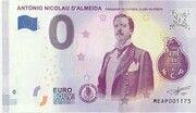 0 euro - António Nicolau d'Almeida (Fundador do Futebol Clube do Porto) – avers