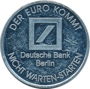1 Euro (Der Euro Kommt) – avers