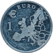 1 Euro (Der Euro Kommt) – revers