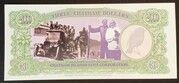 3 Dollars - Millennium First Note – revers