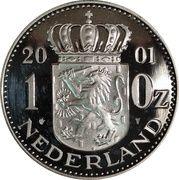1 Ounce Nederland 2001 – revers