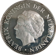 1 Ounce Nederland 2001 – avers