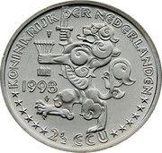 2½ ECU - JR Thorbecke -  avers